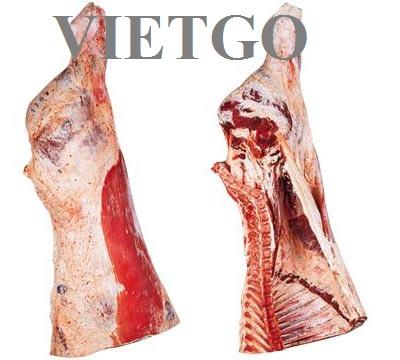 Cơ hội xuất khẩu 690 tấn thịt bò sang Libya