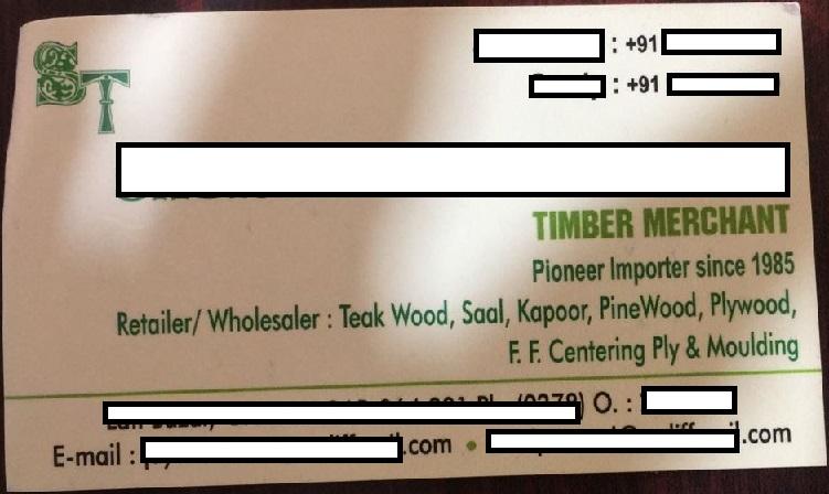 Cơ hội xuất khẩu 3 container gỗ cứng tròn sang Ấn Độ