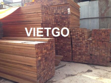 [GẤP] Cơ hội xuất khẩu 2400 thanh gỗ cứng xẻ sang Dubai