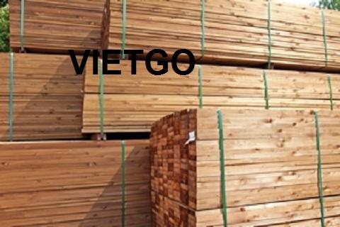 Nhà sản xuất nội thất tại Úc đang cần mua thử 1 container 40ft gỗ xẻ