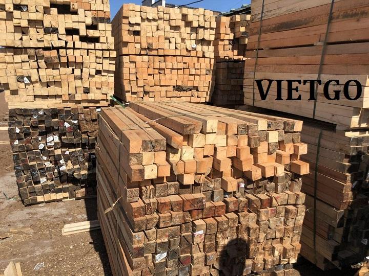 Cơ hội xuất khẩu 250m3 GỖ CỨNG XẺ sang thị trường Trung Quốc mỗi tháng