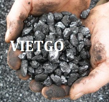 Cơ hội xuất khẩu 1 container 20ft than đá anthracite sang Ấn Độ