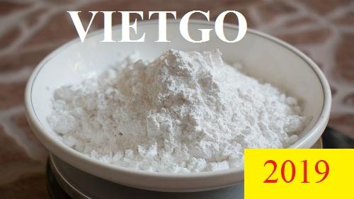 Cơ hội xuất khẩu Tinh bột sắn đến Ấn Độ