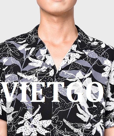 Cơ hội xuất khẩu áo sơ mi họa tiết tồn kho đến Hàn Quốc