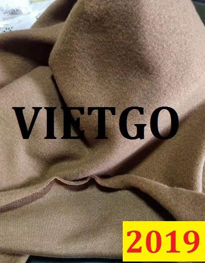 Thương nhân đến từ công ty Malaysia cần nhập khẩu vải thun nỉ, vải dạ từ Việt Nam