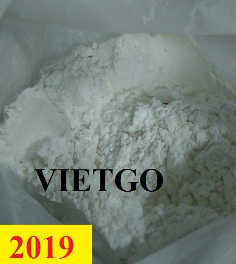Đơn hàng Cả Năm - Cơ hội xuất khẩu Tinh bột Cationic và Tinh bột oxy hóa sang thị trường Indonesia