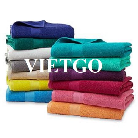 (Cập nhật lần 1) – Đơn hàng thường xuyên - Cơ hội xuất khẩu khăn tắm sang thị trường Ả Rập Saudi