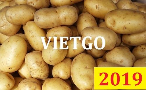 (Cập nhật lần 1) Cơ hội giao thương Đặc Biệt  – Đơn hàng Thường Xuyên  - Cơ hội xuất khẩu khoai tây sang thị trường New Zeland