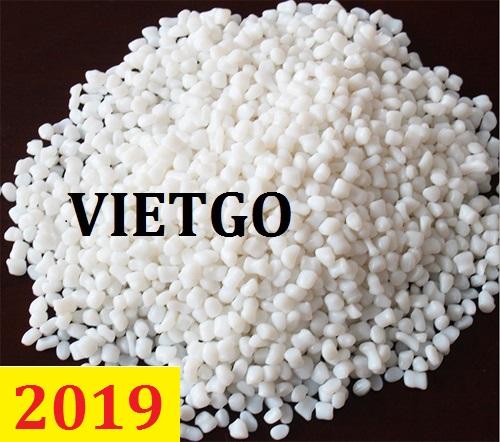 Cơ hội giao thương – Đơn hàng Thường Xuyên – Ông Abu đang cần tìm nhà cung cấp mặt hàng Hạt độn nhựa tại Việt Nam