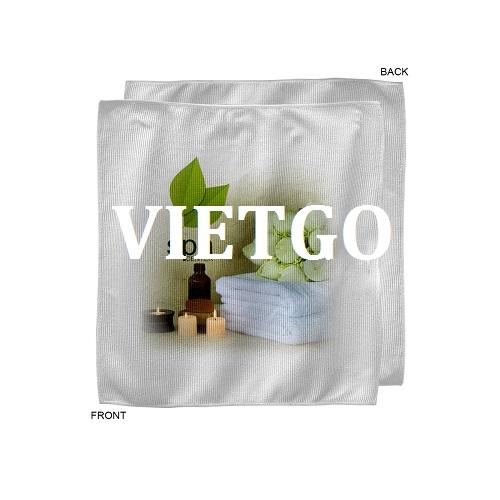 Cơ hội giao thương – Thương nhân đến từ Cộng Hòa Séc cần nhập khẩu khăn mặt từ Việt Nam