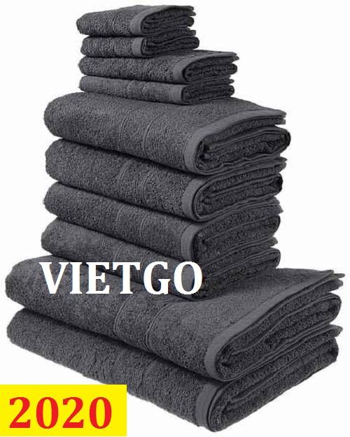 Cơ hội giao thương – Đơn hàng cả năm - Cơ hội cung cấp mặt hàng khăn tắm cho một doanh nghiệp tại CHLB Đức
