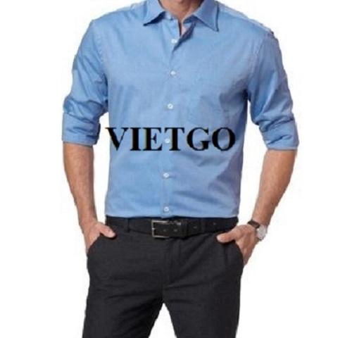 Cơ hội giao thương – Đơn hàng cần báo giá gấp - Cơ hội xuất khẩu áo sơ mi nam đến thị trường Trung Quốc