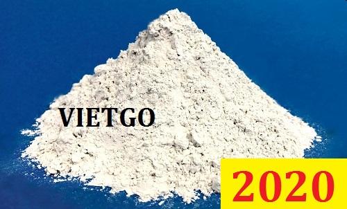 Cơ hội giao thương – Đơn hàng Đặc Biệt Thường Xuyên – Vị khách hàng quen thuộc của VIETGO cần nhập khẩu 30,000 tấn Xỉ hạt lò cao hàng tháng