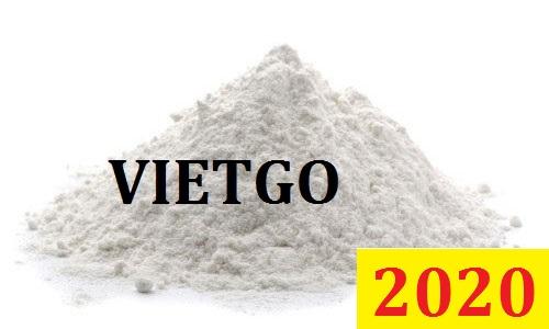 Cơ hội giao thương – Đơn hàng Đặc Biệt Cả Năm – Vị khách hàng quen thuộc của VIETGO cần nhập khẩu Dolomite theo quý