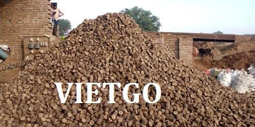 Cơ hội giao thương – Cơ hội xuất khẩu viên gỗ mùn cưa mỗi tháng đến Ấn Độ
