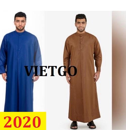 Cơ hội giao thương– Đơn hàng thường xuyên -Thương nhân đến từ Iraq cần nhập khẩu áo dài truyền thống đạo hồi từ Việt Nam