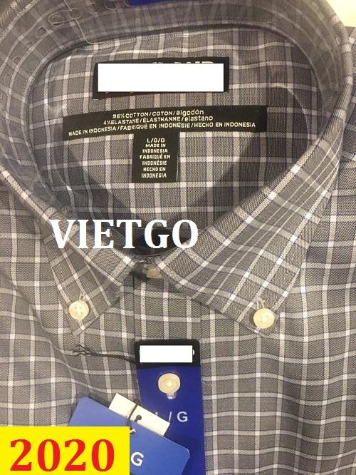 Cơ hội giao thương– Đơn hàng thường xuyên - Thương nhân đến từ Canada cần nhập khẩu áo sơ mi từ Việt Nam