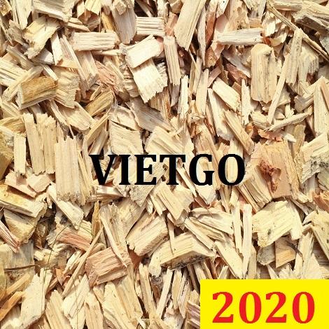 Cơ hội giao thương đặc biệt – Đơn hàng thường xuyên - Cơ hội xuất khẩu 300 BDMT gỗ vụn mỗi tuần sang thị trường Trung Quốc
