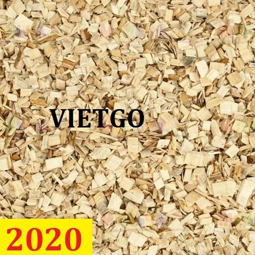 Cơ hội giao thương – Đơn hàng thường xuyên - Cơ hội xuất khẩu 30.000 tấn gỗ vụn mỗi tháng sang thị trường Hàn Quốc