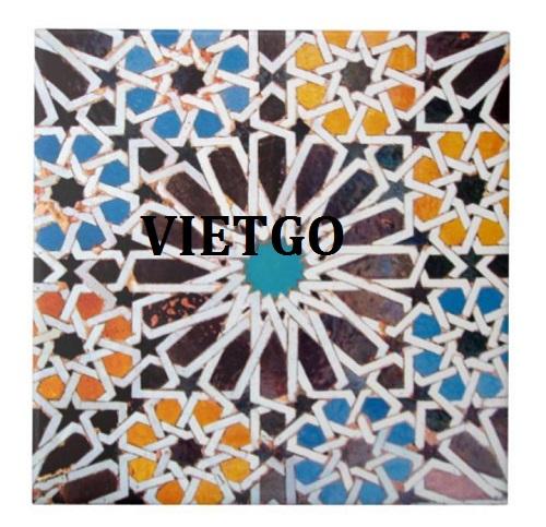 Cơ hội giao thương – Cơ hội xuất khẩu Gạch Mosaic sang thị trường Mỹ