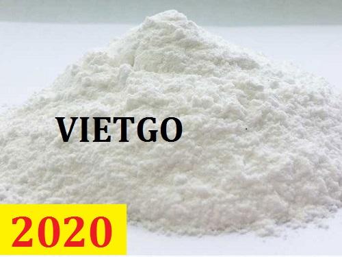 Cơ hội giao thương – Đơn hàng thường xuyên - Cơ hội xuất khẩu tinh bột sắn sang thị trường Sri Lanka.