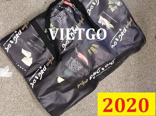 Cơ hội giao thương Đặc biệt  –  Đơn hàng thường xuyên -  Cơ hội xuất khẩu túi PP dệt đến thị trường Đan Mạch