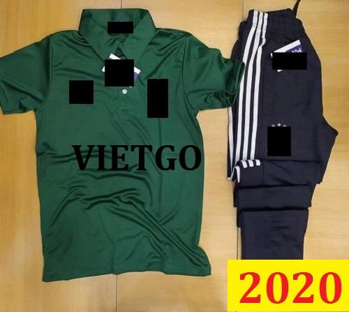 Cơ hội giao thương Đặc biệt –  Đơn hàng thường xuyên - Cơ hội xuất khẩu quần áo thể thao đến thị trường Ai Cập