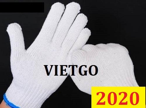 Cơ hội giao thương Đặc Biệt - Đơn hàng thường xuyên –- Cơ hội xuất khẩu găng tay lao động đến thị trường Hàn Quốc