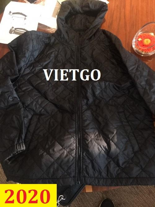 Cơ hội giao thương – Đơn hàng thường xuyên - Vị thương nhân đến từ Úc cần nhập khẩu áo Jacket từ Việt Nam