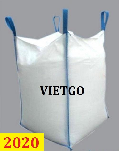 Cơ hội giao thương- Đơn hàng thường xuyên - Thương nhân đến từ Pakistan cần nhập khẩu khẩu túi Jumbo từ Việt Nam