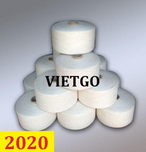 Cơ hội giao thương- Đơn hàng thường xuyên – Thương nhân người Nga cần nhập khẩu sợi dệt từ Việt Nam