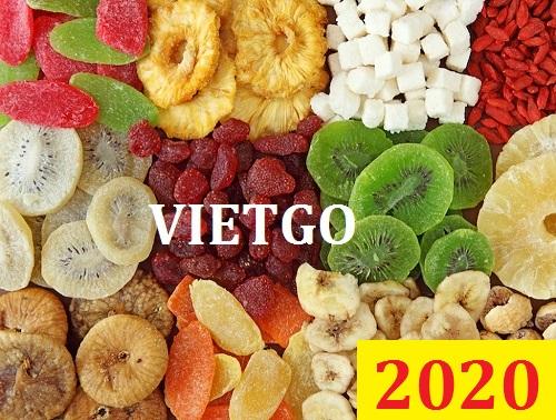 Cơ hội giao thương Đặc biệt – Đơn hàng thường xuyên - Cơ hội xuất khẩu hoa quả khô sang thị trường Bangladesh.