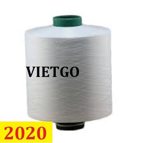 Cơ hội giao thương- Đơn hàng thường xuyên – Thương nhân đến từ Ấn Độ cần nhập khẩu sợi dệt từ Việt Nam