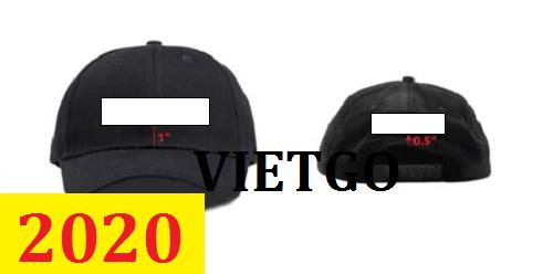 Cơ hội giao thương –Đơn hàng thường xuyên- Cơ hội xuất khẩu khẩu Mũ các loại đến Mỹ