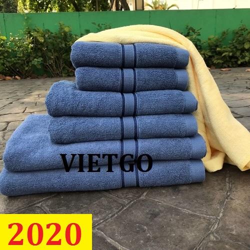 Cơ hội giao thương- Đơn hàng thường xuyên - Thương nhân đến từ Yemen cần nhập khẩu khẩu khăn bông từ Việt Nam