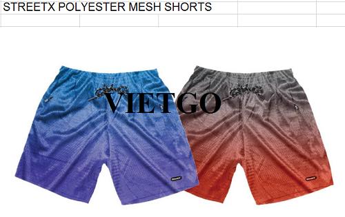 Cơ hội giao thương Đặc biệt – Thương nhân người Hà Lan cần nhập khẩu Quần Short từ thị trường Việt Nam