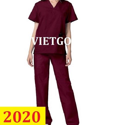 Cơ hội giao thương –  Đơn hàng thường xuyên - Cơ hội xuất khẩu quần áo đồng phục Y tế đến thị trường Canada