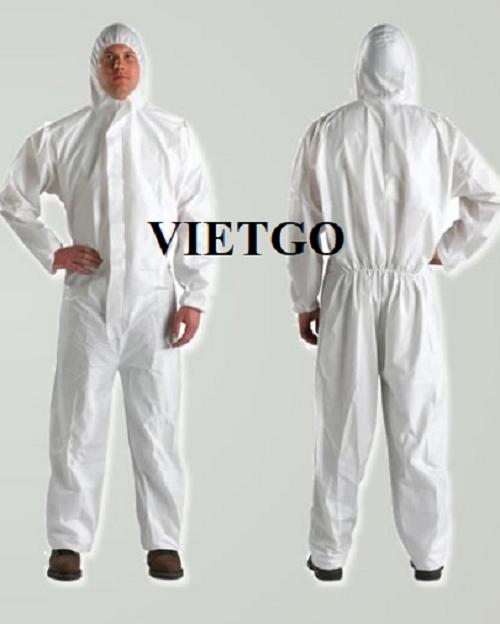 Cơ hội giao thương Đặc Biệt (Gấp) – Đơn hàng thường xuyên -  Cơ hội cung cấp khẩu trang y tế, bộ áo liền quần bảo hộ cho một doanh nghiệp tại Ả Rập Saudi