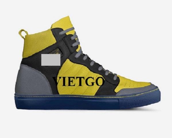 Cơ hội giao thương Đặc Biệt (Gấp) – Đơn đặt hàng mỗi tháng từ khách VIP của VIETGO – Cơ hội xuất khẩu giày thể thao đến thị trường Dubai, Qatar