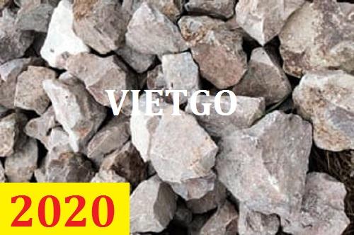 Cơ hội giao thương -  Đơn hàng thường xuyên – Cơ hội xuất khẩu 5000 tấn đá DOLOMITE sang cho vị khách vô cùng tiềm năng đến từ Singapore