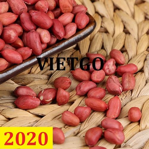 Cơ hội giao thương – Đơn hàng Cả Năm - Cơ hội xuất khẩu Lạc Nhân sang thị trường Trung Quốc