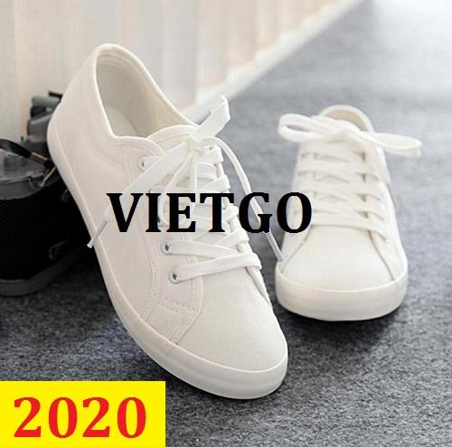 Cơ hội giao thương – Đơn hàng thường xuyên - Cơ hội cung cấp giày vải thời trang cho một doanh nghiệp tại USA - MS