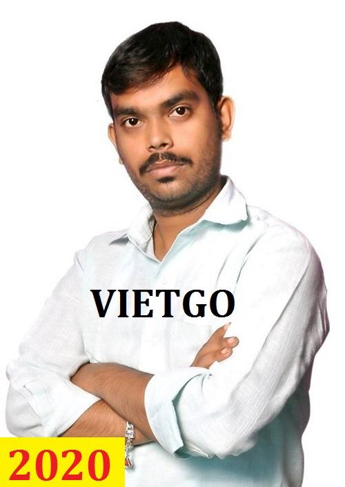 Cơ hội giao thương – Đơn hàng cả năm – Vị khách hàng Ấn Độ cần nhập khẩu ván sàn tre từ Việt Nam