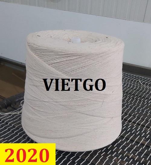 Cơ hội giao thương – Đơn hàng thường xuyên - Cơ hội cung cấp sản phẩm sợi cotton tới Hy Lạp