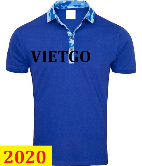 Cơ hội giao thương –Đơn hàng thường xuyên - Thương nhân đến từ Pháp cần nhập khẩu mặt hàng Polo shirt, T- shirt từ Việt Nam