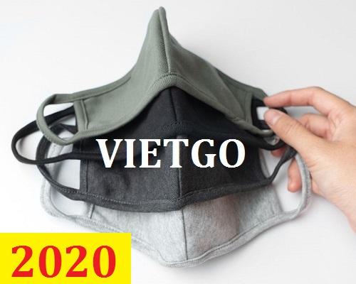 Cơ hội giao thương – Đơn hàng Thường Xuyên - Cơ hội xuất khẩu Khẩu Trang Vải Kháng Khuẩn sang thị trường HongKong