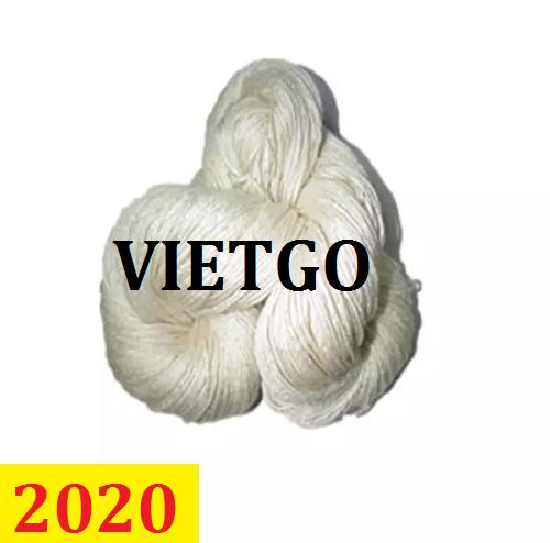 Cơ  hội giao thương  –  Đơn hàng thường xuyên –- Cơ hội xuất khẩu sợi tơ tằm đến thị trường Ấn Độ