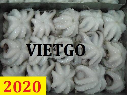 Cơ hội giao thương – Đơn hàng Cả Năm – Cơ hội xuất khẩu 300 tấn  Bạch tuộc mỗi tháng sang thị trường Trung Quốc