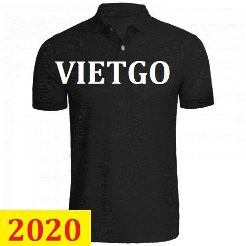 Cơ hội giao thương – Đơn hàng thường xuyên - Cơ hội cung cấp mặt hàng áo Polo Shirt thời trang cho một doanh nghiệp tại Sri Lanka - MS