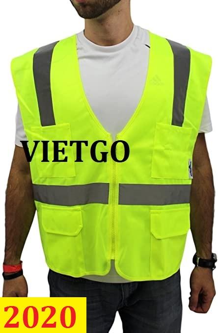 Cơ hội giao thương – Đơn hàng thường xuyên - Cơ hội xuất khẩu áo khoác bảo hộ lao động đến thị trường Mỹ